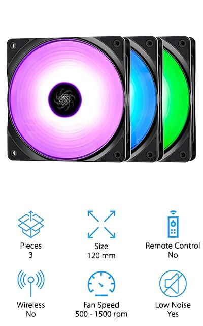 DEEPCOOL RF120 RGB Fan