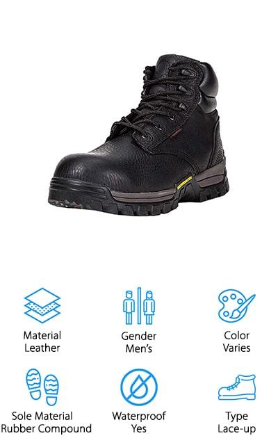 ROCKROOSTER Work Boots