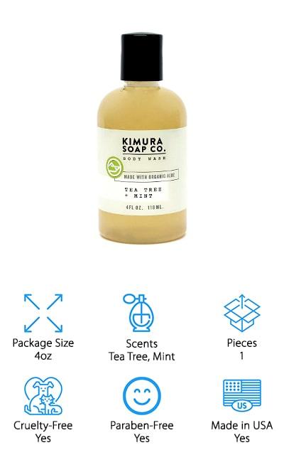 Kimura Soap Body Wash