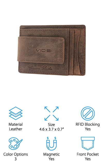 Viosi Money Clip Wallet