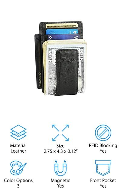 Classico Money Clip Wallet
