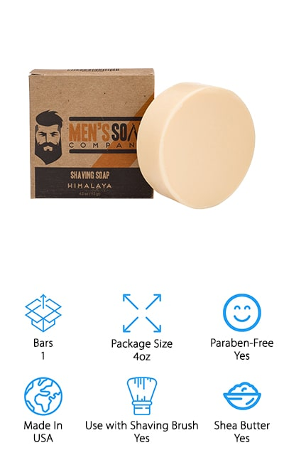 Men's Soap Co. Shaving Soap