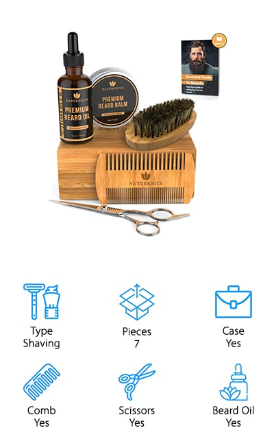 Naturenics Beard Grooming Kit