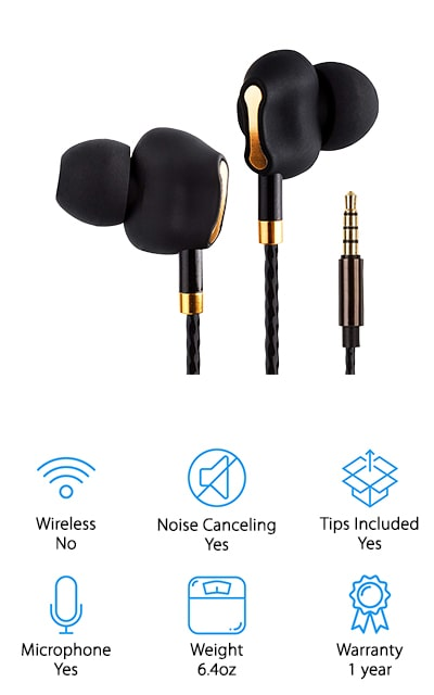 ZEUS Dual Driver Earbuds