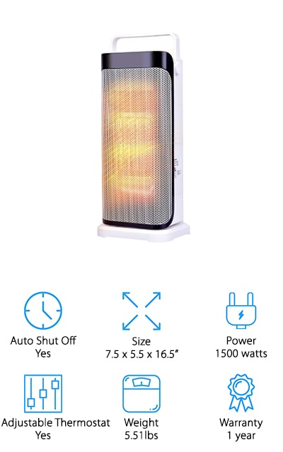Air Choice Ceramic Space Heater