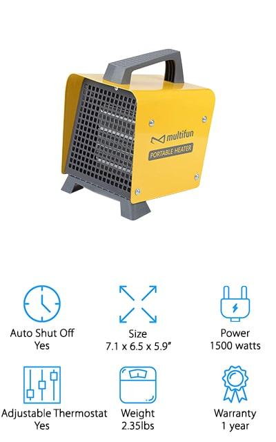 Multifun Space Heater