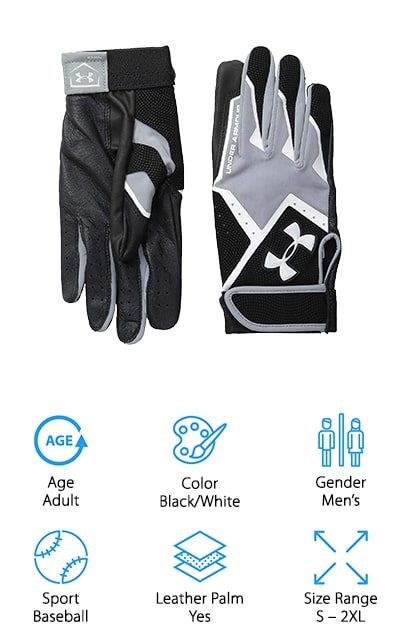 Under Armour Clean-Up VI Batting Glove