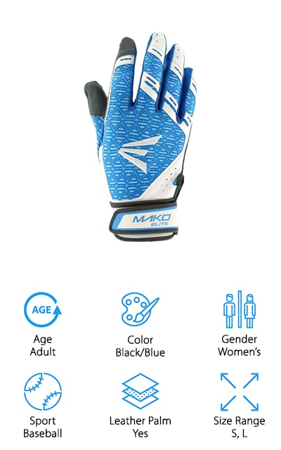 Easton Mako Elite Fastpitch Gloves