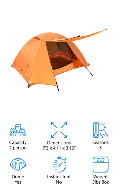 Clostnature Backpacking Tent