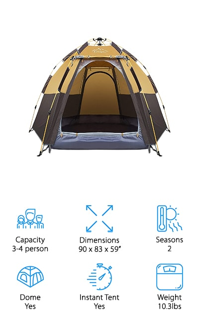 Toogh Pop-Up Camping Tent