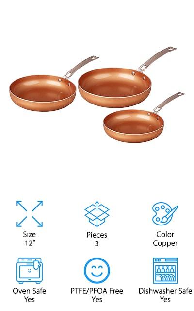 CONCORD Frying Pan Set
