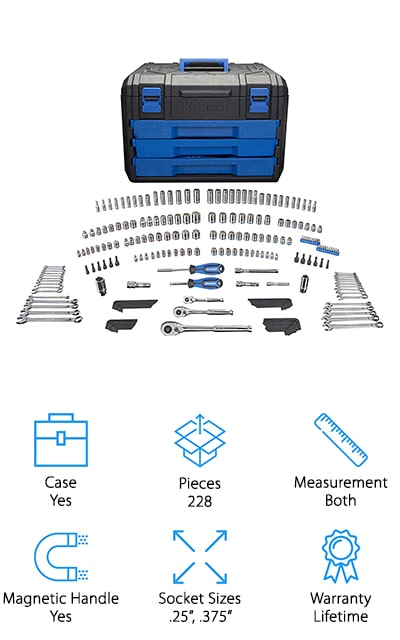 Kobalt Mechanics Tool Set
