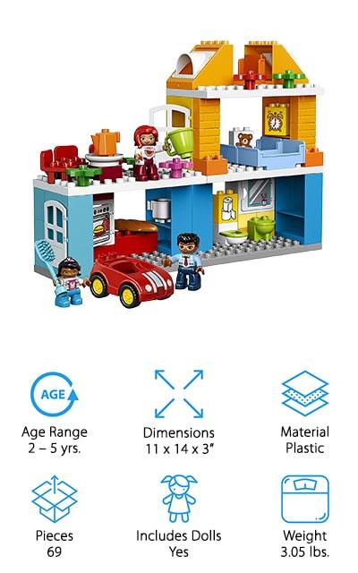 LEGO Duplo My Town Family House