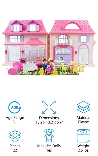 Boley Pretend Play Doll House