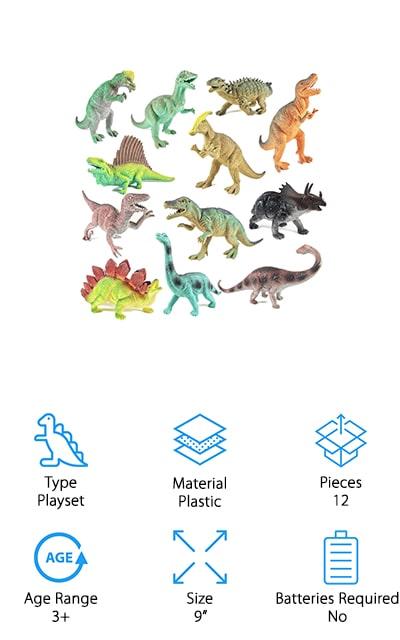 Boley Educational Dinosaur Toys
