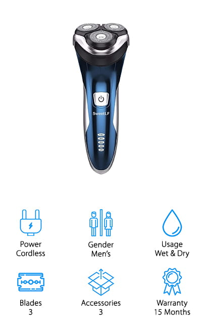 SweetLF Electric Razor