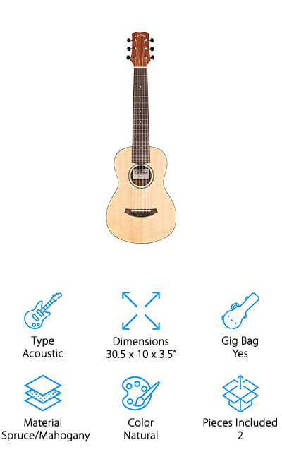 Cordoba Mini M Travel Guitar