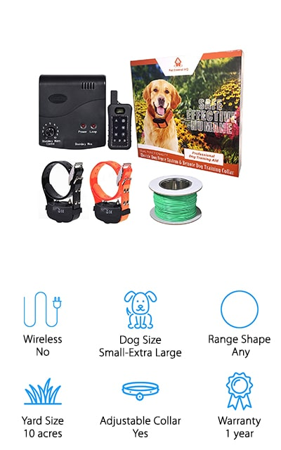 Pet Control HQ Electric Fence