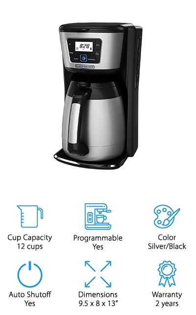 Black+Decker Thermal Coffeemaker