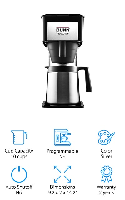 BUNN BT Velocity Brew Coffee Maker