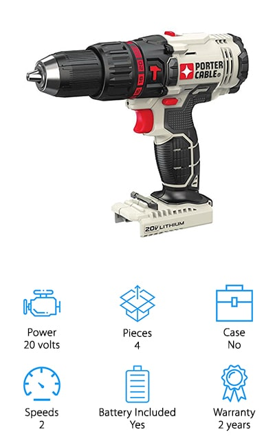 Porter-Cable Compact Hammer Drill