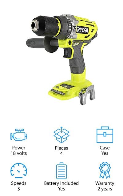 Ryobi P1813 One+ Hammer Drill