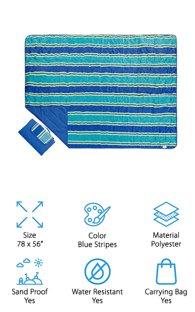 Bertte Sand Proof Beach Blanket