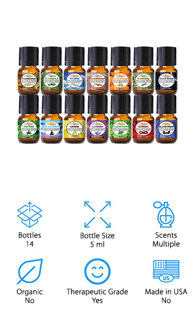 Artizen Top 14 Essential Oil Sets