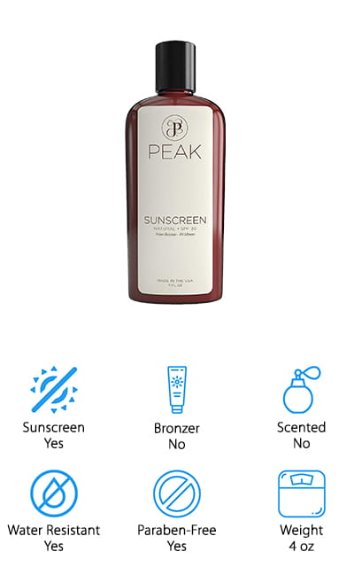 Peak Products Mineral Sunscreen