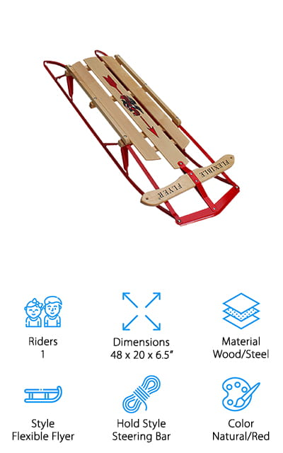 Flexible Flyer Snow Sled