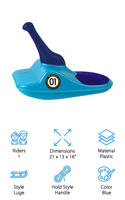 Zipfy Freestyle Luge Sled