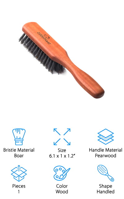 ZilberHaar Beard Brush