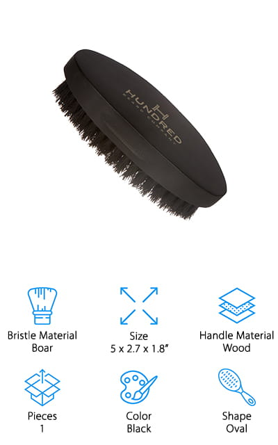 Hundred Beard Co. Beard Brush