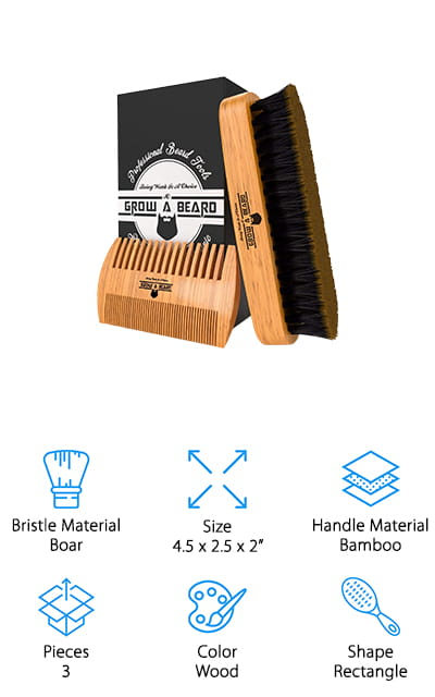 Grow A Beard Brush Kit