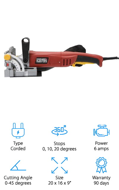 Chicago Electric Plate Joiner