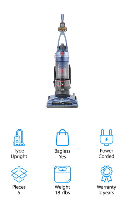 Hoover T-Series Pet Rewind Vacuum