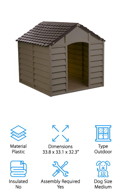 Starplast Mocha Dog House