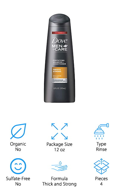 Dove Men+Care 2 in 1 Conditioner