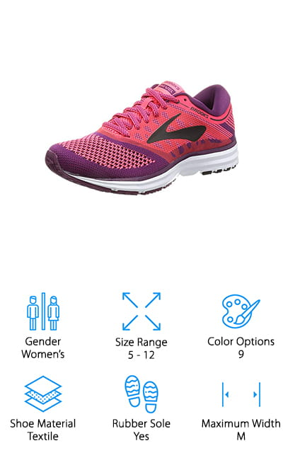 Brooks Womens Revel Shoes