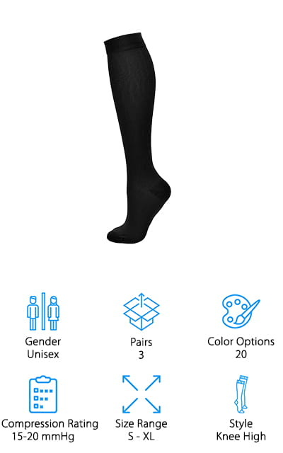 Laite Hebe Compression Socks