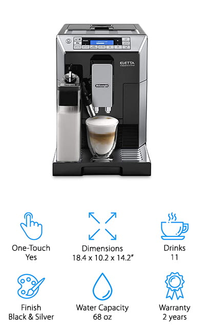Delonghi Digital Espresso Machine