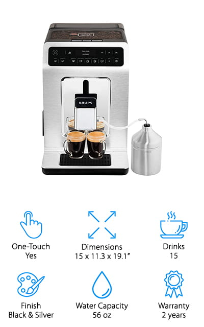 KRUPS One-Touch Espresso Machine