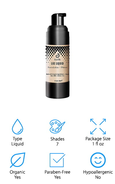 BaeBlu Liquid Foundation