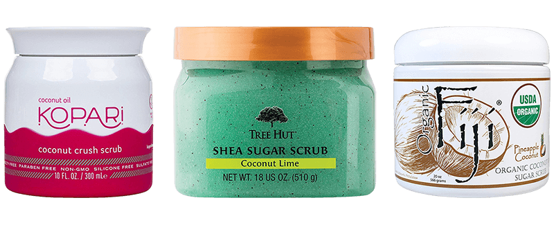 Best Coconut Oil Sugar Scrubs