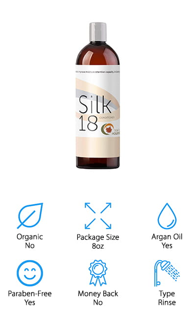 Silk18 Natural Hair Conditioner