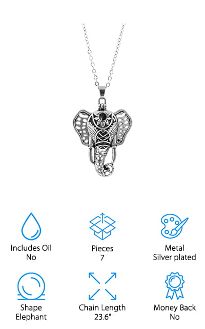 RoyAroma Diffuser Necklace