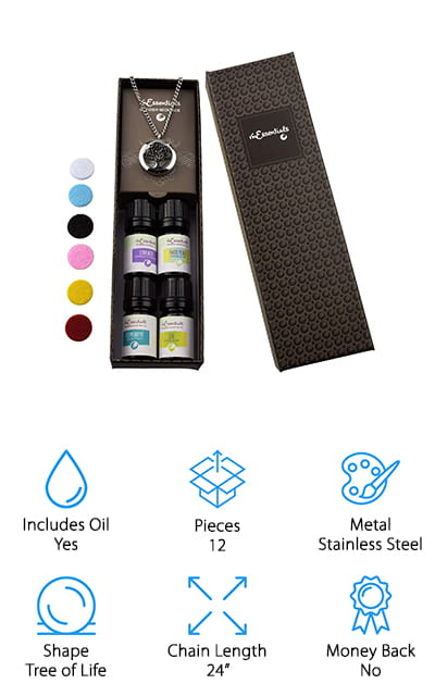 mEssentials Oil Diffuser Necklace
