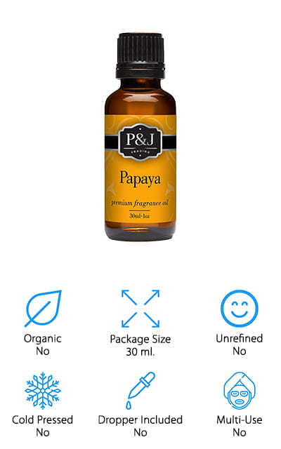 P&J Trading Papaya Oil
