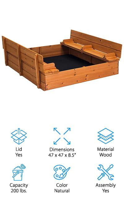 Best Choice Products Sandbox