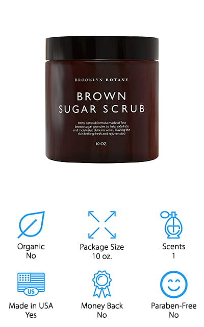 Brooklyn Botany Brown Sugar Scrub